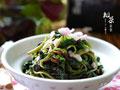 橄榄油拌苋菜的做法