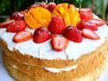 草莓芒果裸蛋糕的做法