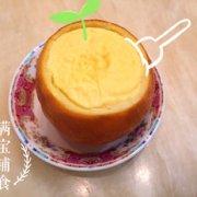 宝宝镇咳佳品 香橙蒸蛋的做法