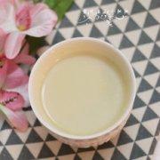 莲子百合豆浆的做法