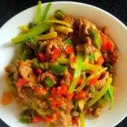 辣炒牛肉的做法