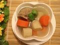牛蒡红萝卜排骨汤的做法