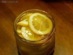 蜂蜜腌柠檬的制作方法