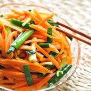 【清炒胡萝卜丝的做法】山药炒胡萝卜丝的做法_山药炒胡萝卜丝的营养