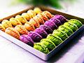 彩色柳叶饺子的做法