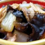 肉片白菜炒木腐的做法