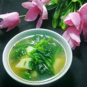 【菠菜汤】菠菜汤的做法_菠菜鸡蛋汤_菠菜豆腐汤