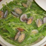 翡翠花蛤汤的做法