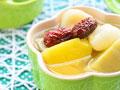 酸酸甜甜红薯菠萝汤的做法