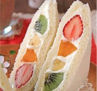 水果三明治的做法视频