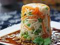 蒜香青豆拌金针菇的做法