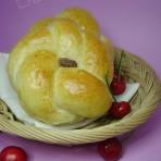 花环夹沙面包的做法