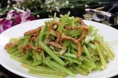 芹菜的营养价值及功效,芹菜炒肉的做法大全