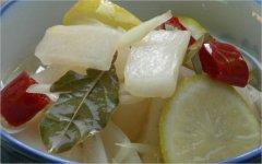 【泡菜】萝卜泡菜的腌制方法