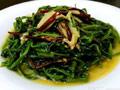 超好下饭菜--椒丝腐乳通心菜的做法