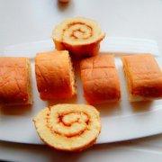 黄桃果酱蛋糕卷的做法