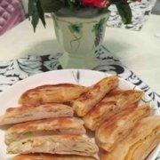香葱猪油饼的做法