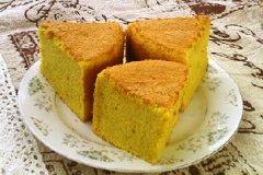 芒果戚风蛋糕的家常做法