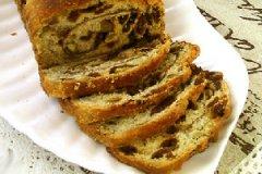 葡萄干核桃肉桂面包卷的家常做法