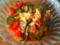 黄瓜西红柿炒蛋的做法