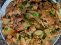 鸡肉炒鸡腿菇的做法