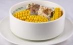玉米笋白菜香菇汤促进肠蠕动排毒减肥