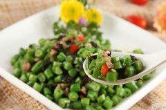 橄榄菜炒豆角,橄榄菜的做法