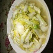 青炒大白菜的做法