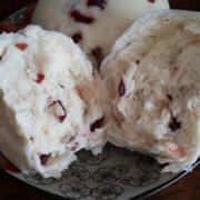 酸甜可口蔓越莓馒头的做法