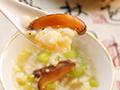 【冬季养生】西芹香菇养身粥的做法