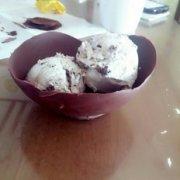 巧克力碗冰淇淋的做法