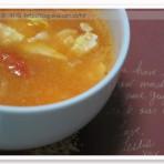 西红柿鸡蛋燕麦汤