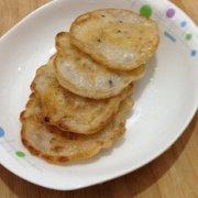 奶香香蕉糯米饼的做法