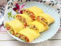 三丝蛋米卷的做法