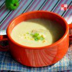 奶油鸡肉蘑菇浓汤的做法