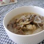 葱爆羊肉粉丝汤的做法