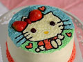 【kitty猫生日蛋糕】 --- 萌翻人的小可爱的做法