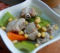 苦瓜黄豆排骨汤的做法视频
