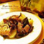 海带土豆排骨汤