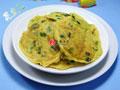 韭菜鸡蛋土豆丝饼的做法