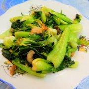 猪油炒青菜的做法