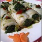 龙俐菠菜卷