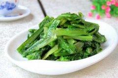 【蒜蓉油麦菜】蒜蓉油麦菜的做法大全