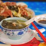 白菜菜干猪骨汤的做法