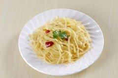 醋溜土豆丝的家常做法,土豆丝怎么做好吃