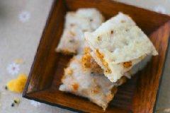 肉松糯米卷饼的家常做法