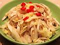 杏鲍菇拌白菜心的做法