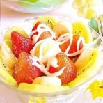 自制沙拉酱-----水果沙拉