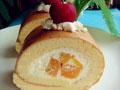 芒果奶油卷的做法
