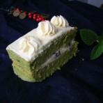 抹茶蜜豆奶蛋糕的做法